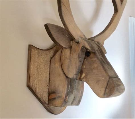 Wooden-Diy-Deer-Head