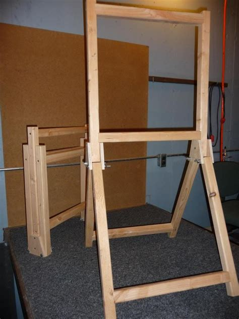 Wooden-Diy-Folding-Target-Stand