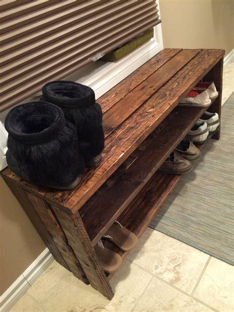 Wooden-Diy-Shoe-Bench