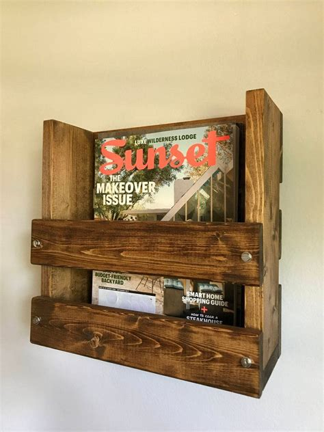 Wooden-Diy-Wall-Magazine-Rack