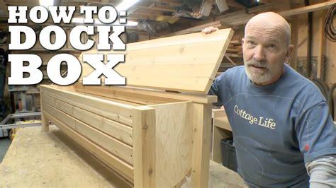 Wooden-Dock-Box-Plans