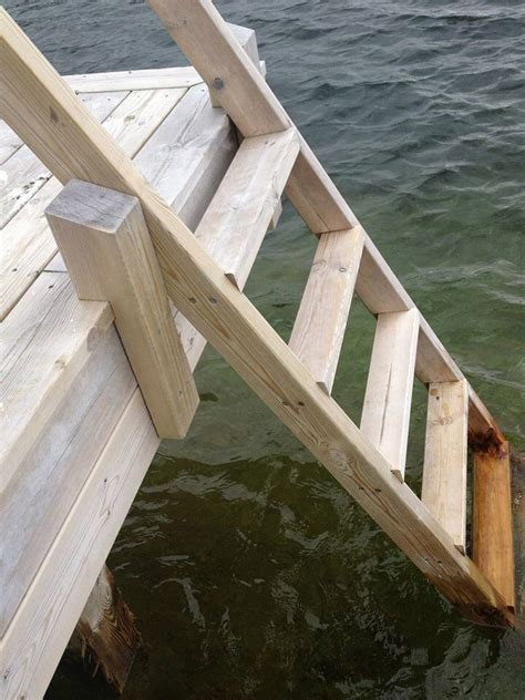 Wooden-Dock-Ladder-Plans