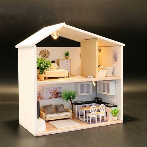 Wooden-Dollhouse-Furniture-Kits