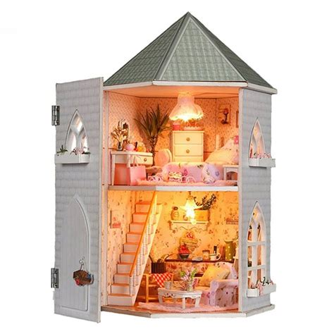Wooden-Dollhouse-Kits-Amazon