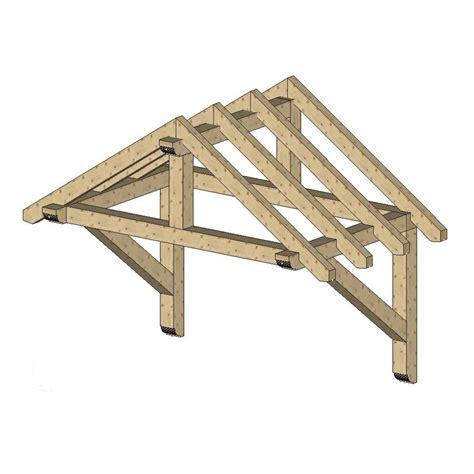 Wooden-Door-Canopy-Plans