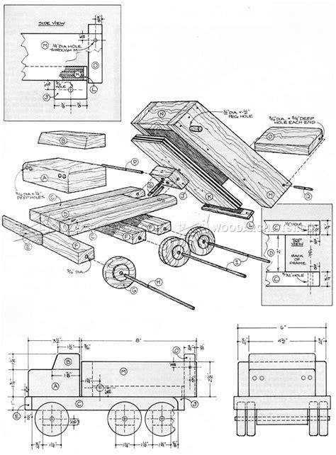 Wooden-Dump-Truck-Plans