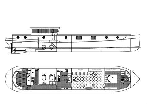 Wooden-Dutch-Barge-Plans