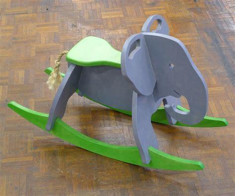 Wooden-Elephant-Rocking-Horse-Plans