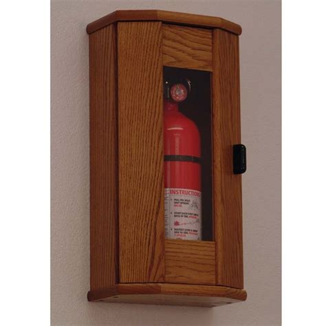 Wooden-Fire-Extinguisher-Cabinet-Diy