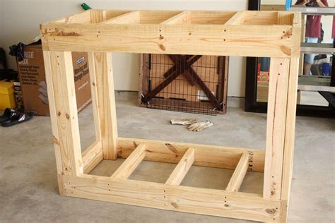 Wooden-Fish-Tank-Stand-Diy