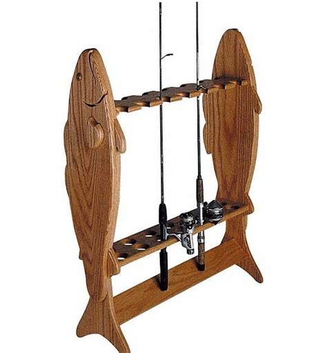 Wooden-Fishing-Rack-Plans
