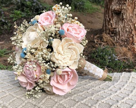 Wooden-Flower-Bouquets-Diy