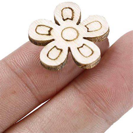 Wooden-Flower-Chips-For-Diy