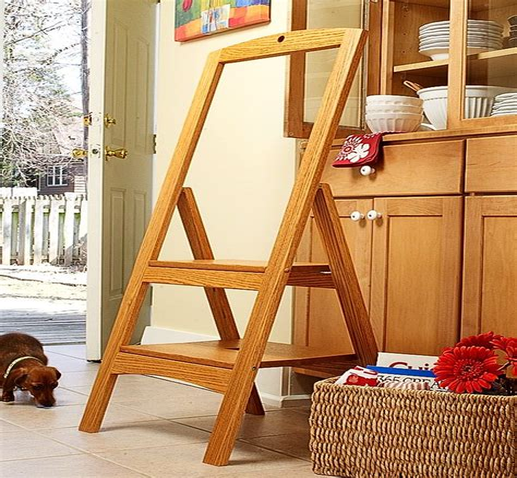 Wooden-Folding-Ladder-Plans
