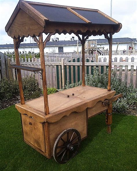 Wooden-Food-Cart-Plans