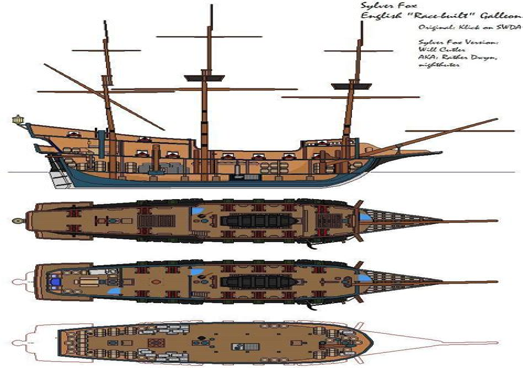 Wooden-Galleon-Plans