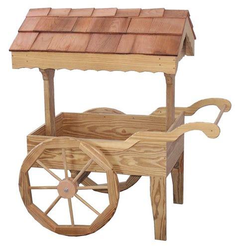 Wooden-Garden-Carts-Plans