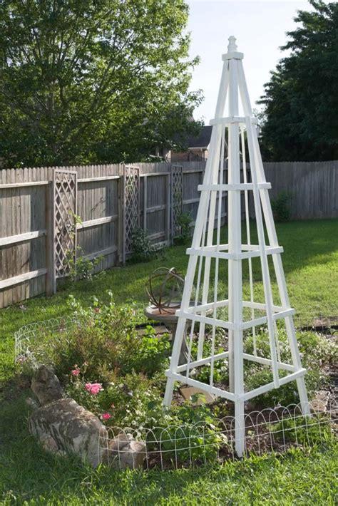 Wooden-Garden-Obelisk-Diy