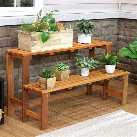 Wooden-Garden-Shelves