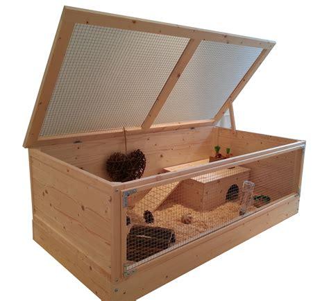 Wooden-Guinea-Pig-Cage-Plans