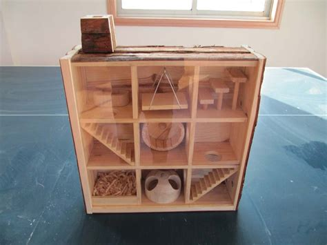 Wooden-Hamster-Cage-Plans
