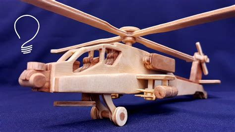 Wooden-Helicopter-Model-Plans
