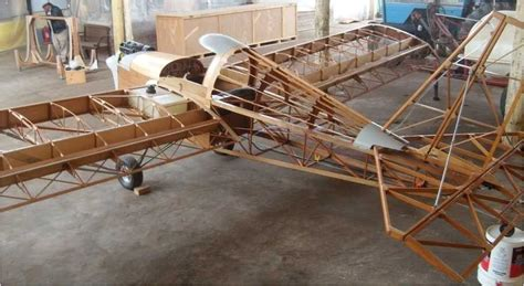 Wooden-Home-Built-Airplane-Plans