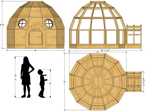 Wooden-Igloo-Plans