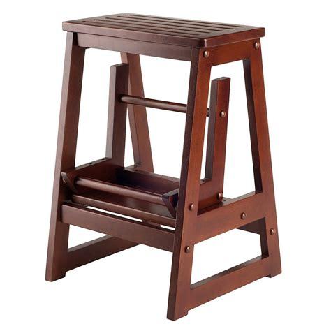 Wooden-Kitchen-Step-Stool-Chair