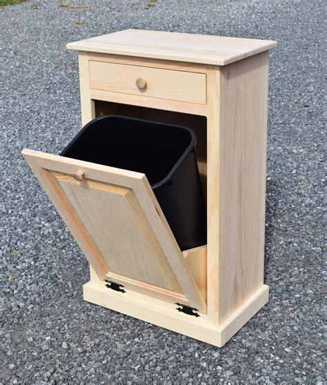 Wooden-Kitchen-Trash-Can-Holder-Plans