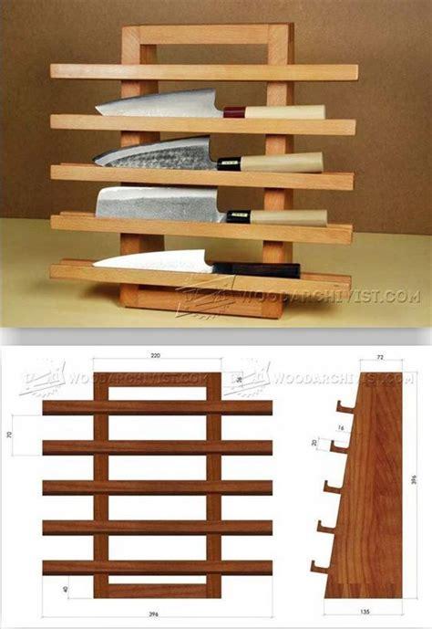 Wooden-Knife-Rack-Plans