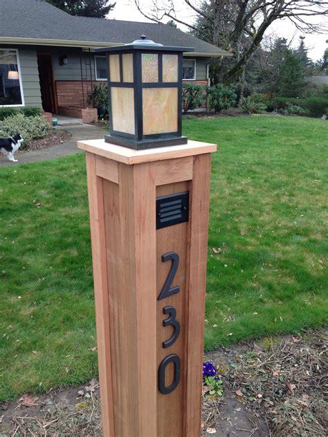 Wooden-Lamp-Post-Plans