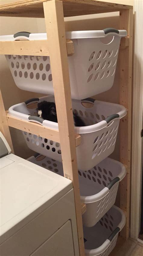 Wooden-Laundry-Sorter-Plans