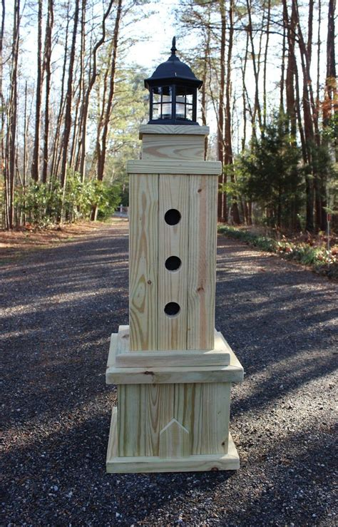 Wooden-Lawn-Lighthouse-Plans
