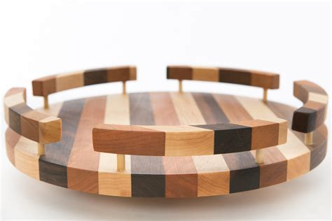 Wooden-Lazy-Susan-With-Rails