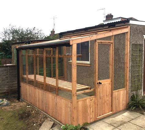 Wooden-Lean-To-Greenhouse-Plans
