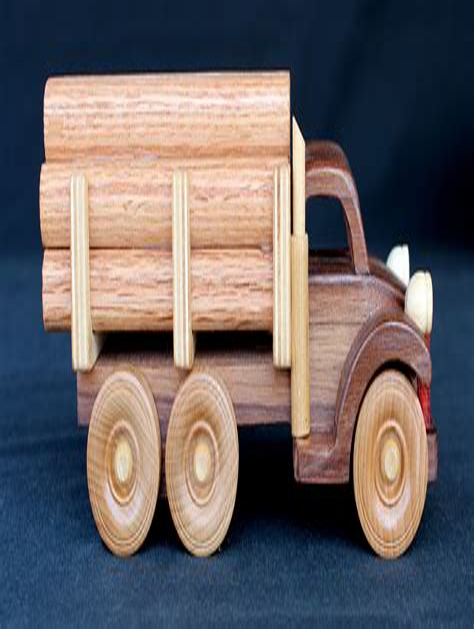 Wooden-Log-Truck-Plans