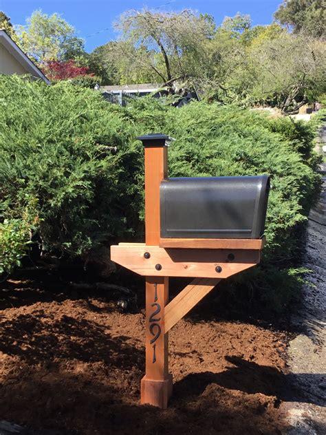 Wooden-Mail-Bix-Posts-Plans
