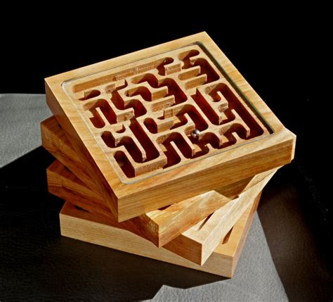 Wooden-Marble-Maze-Plans
