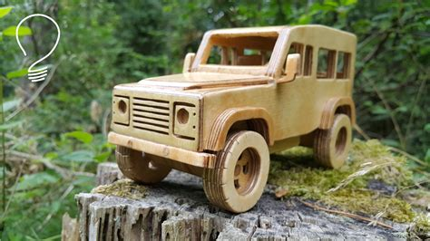 Wooden-Model-Land-Rover-Plans