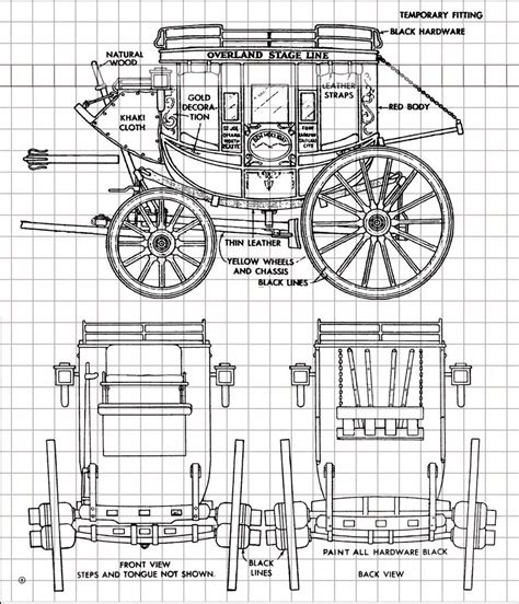 Wooden-Model-Stagecoach-Plans