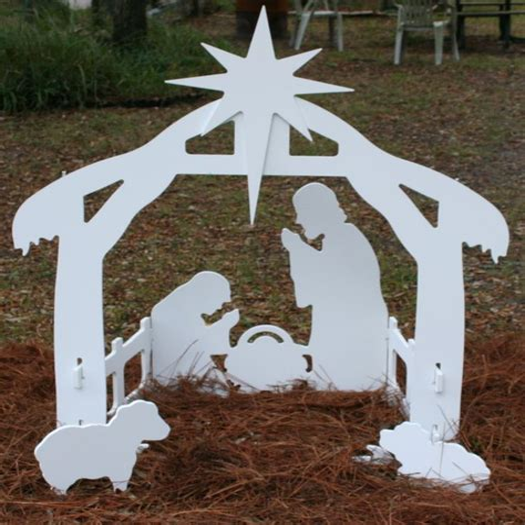 Wooden-Nativity-Silhouette-Pattern-Plans