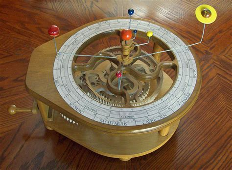 Wooden-Orrery-Plans