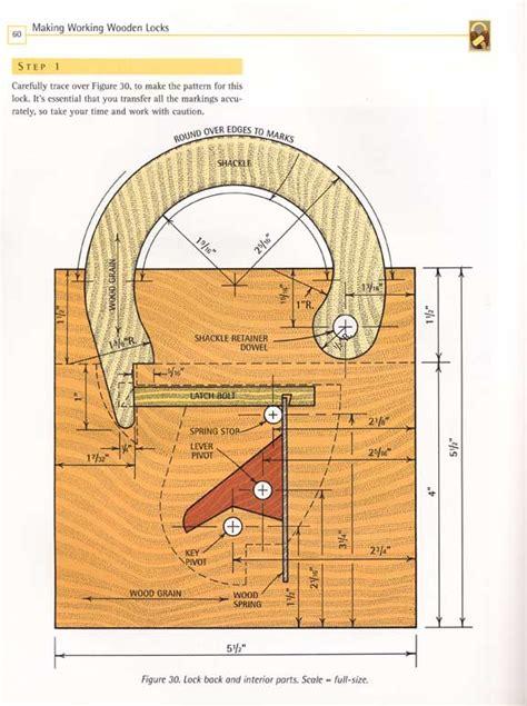 Wooden-Padlock-Plans-Free