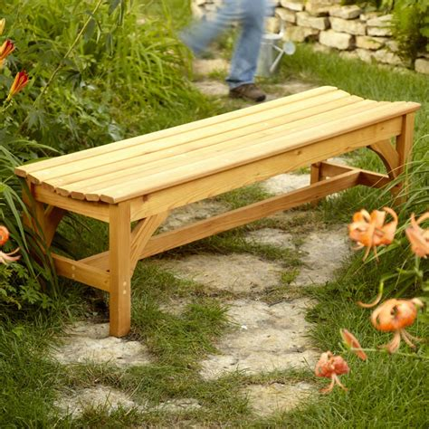 Wooden-Patio-Bench-Plans
