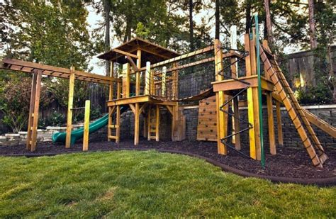 Wooden-Play-Area-Plans