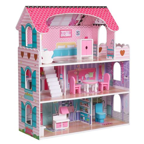 Wooden-Play-Dollhouse