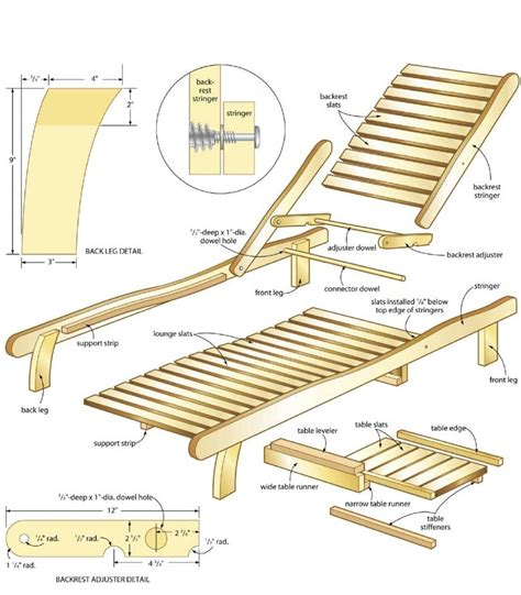 Wooden-Pool-Lounge-Chair-Plans