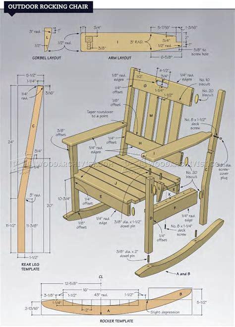 Wooden-Porch-Rocking-Chair-Plan