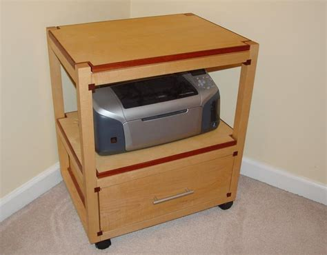 Wooden-Printer-Stand-Plans